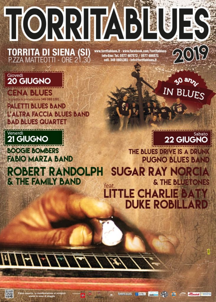 Paletti Blues Band apre la 30° Edizione del Torrita Blues Festival